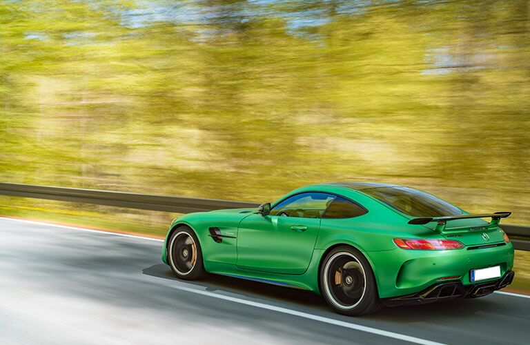 2018 Mercedes-AMG GT R with new rear spoiler