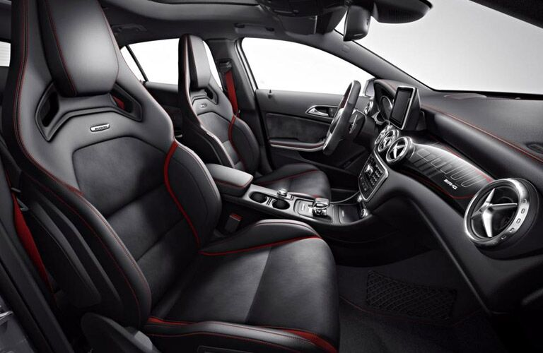 2017 Mercedes-AMG GLA45 AMG Performance Seats