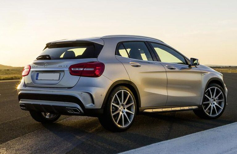 2017 Mercedes-AMG GLA45 Sporty Rear End