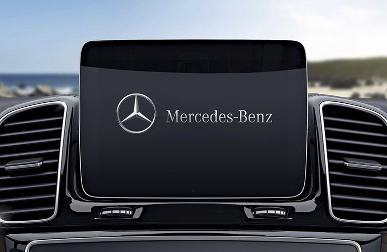 2017 Mercedes-AMG GLS63 display screen