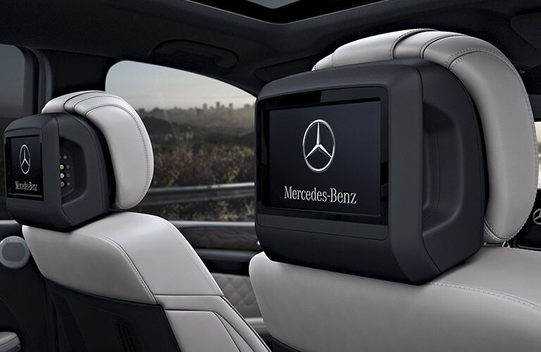 2017 Mercedes-AMG GLS63 rear entertainment system