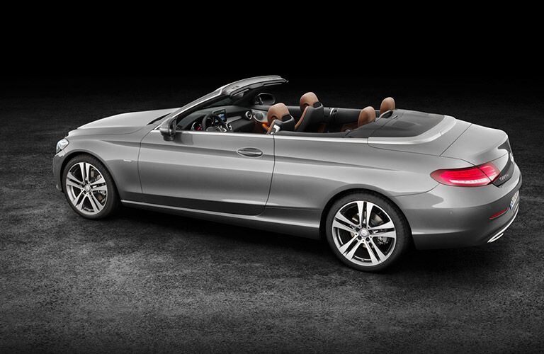 2017 Mercedes-Benz C-Class Cabriolet Side View