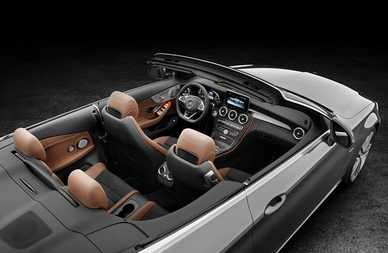 2017 Mercedes-Benz Convertible Top View Interior
