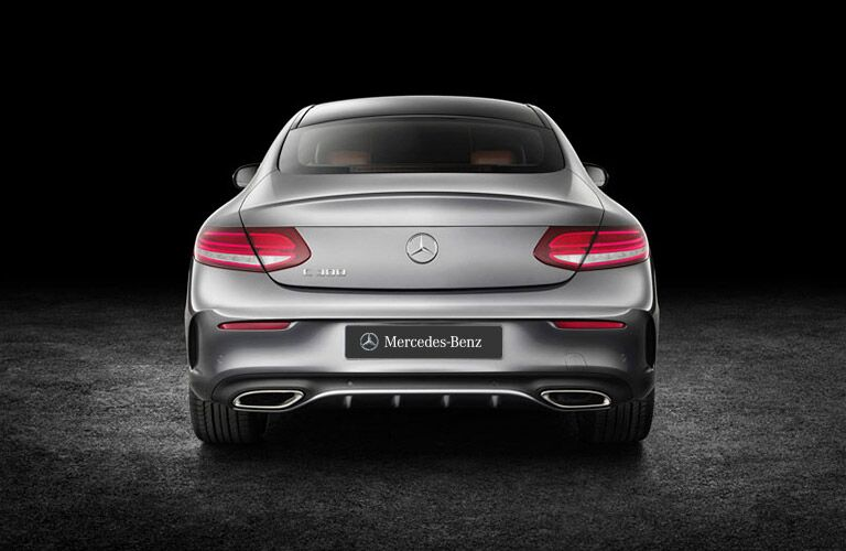 2017 Mercedes-Benz C-Class Coupe Trunk Rear