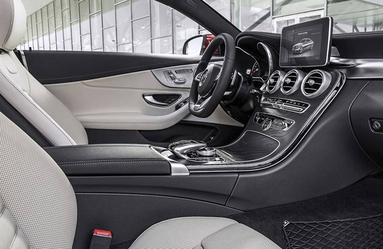 2017 Mercedes-Benz C-Class Coupe Front Leather Seats