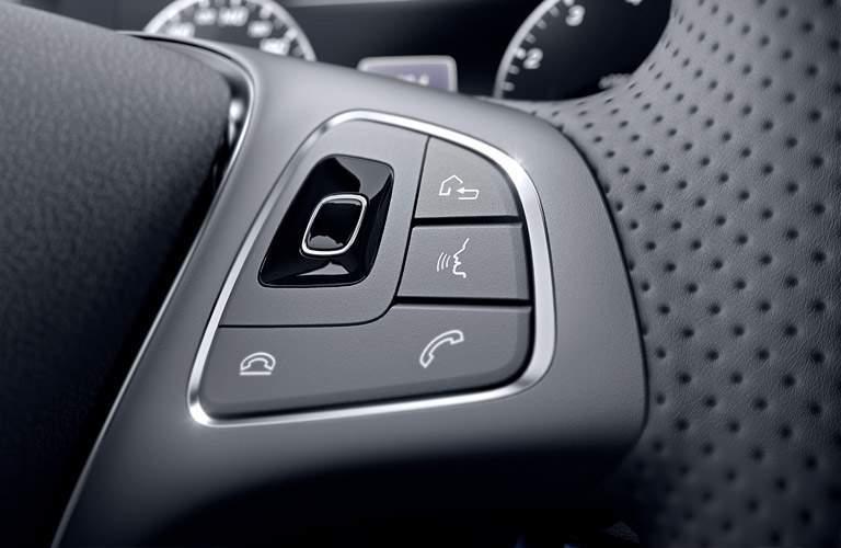 2017 Mercedes-Benz E-Class e300 steering wheel mounted controls