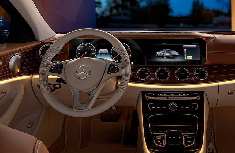 2017 Mercedes-Benz E-Class e300 interior steering wheel