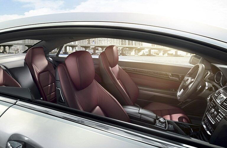 2017 Mercedes-Benz E-Class Coupe Sport Leather Seats