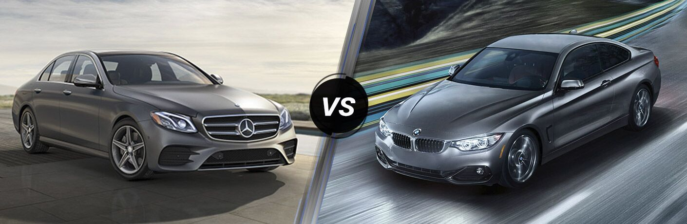 2017 Mercedes-Benz E-Class vs 2017 BMW 4-Series Gran Coupe