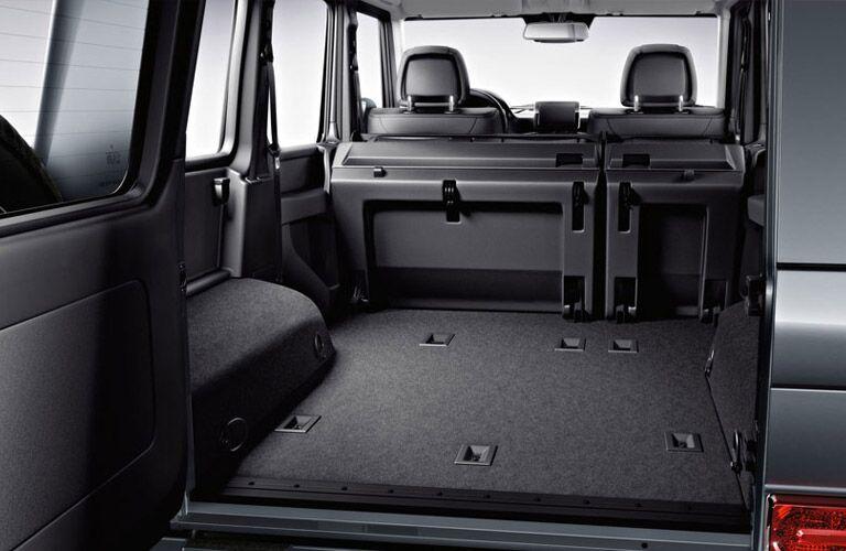 2017 Mercedes-Benz G550 cargo capacity