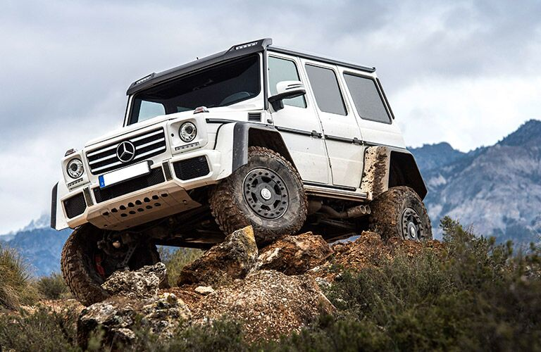 2017 Mercedes-Benz G550 4x4^2 Rugged Exterior