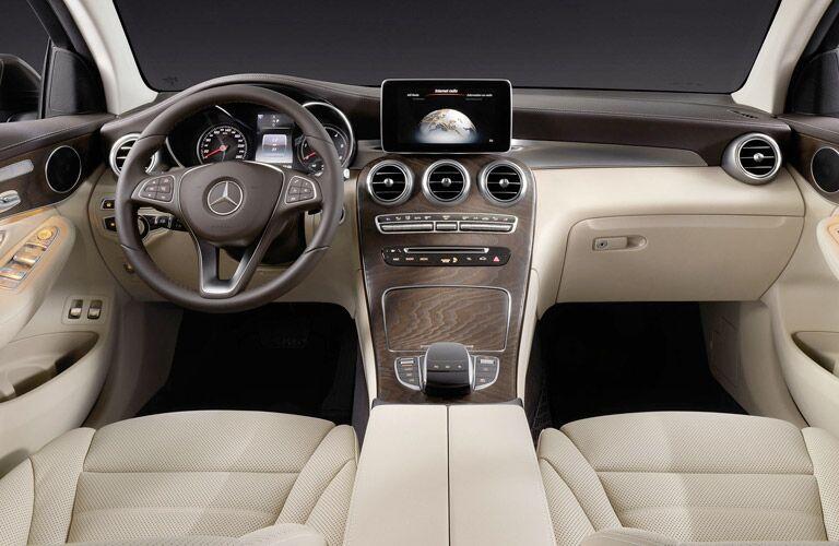 2017 Mercedes-Benz GLC Coupe Premium Interior