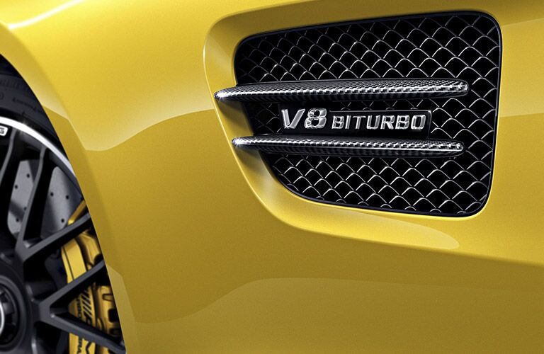 2017 Mercedes-AMG GT S  V* Biturbo engine