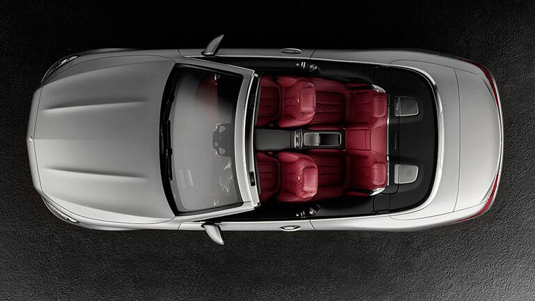 2016 Mercedes-Benz S-Class Cabriolet Top View