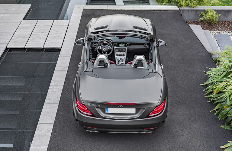 2017 Mercedes-Benz SLC Roadster Top Down View