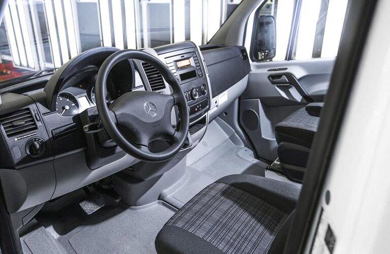 2017 Mercedes-Benz Sprinter interior features