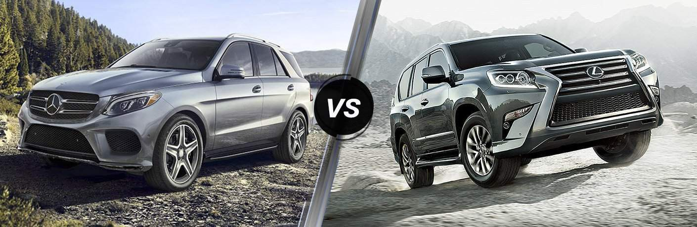 2017 Mercedes-Benz GLE vs 2017 Lexus GX