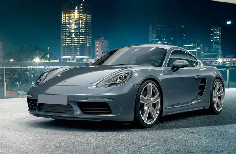 2017 Porsche 718 Cayman Redesign Front End