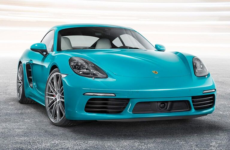 2017 Porsche 718 Cayman Upgraded exterior features