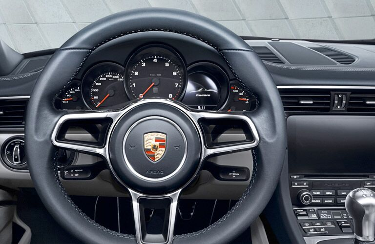 2017 Porsche 911 Carrera Steering Wheel