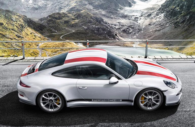 2017 Porsche 911 R Performance Exterior with Racing Stripes