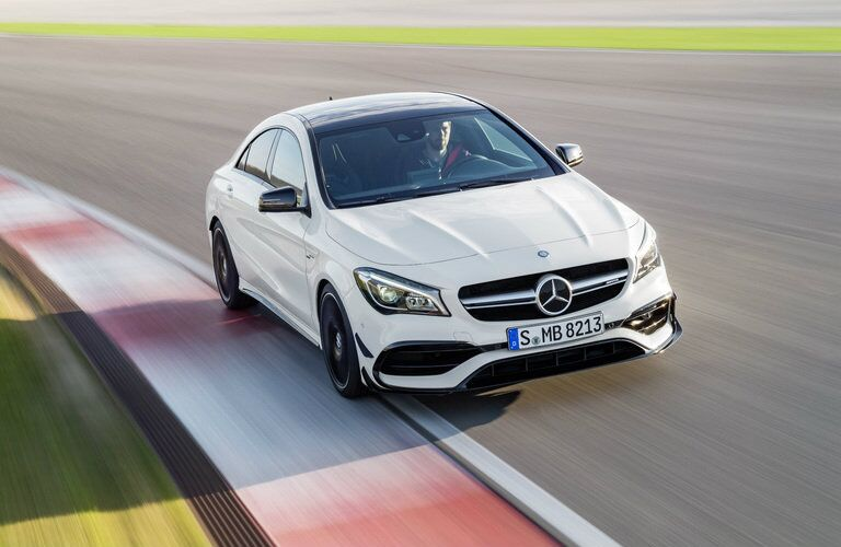 2017 Mercedes-AMG CLA45 redesigned front end