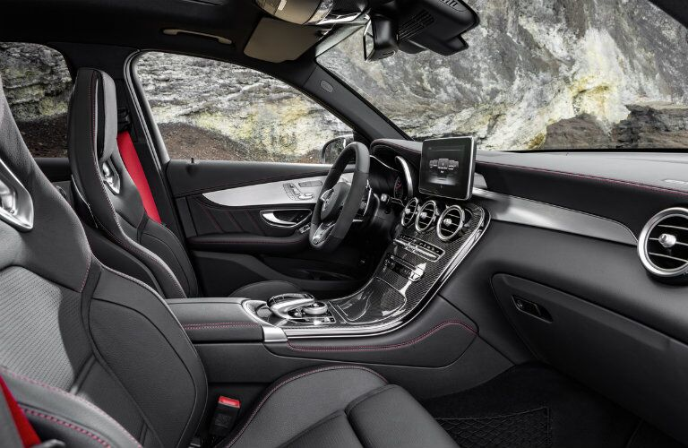 2017 Mercedes-AMG GLC43 premium interior features