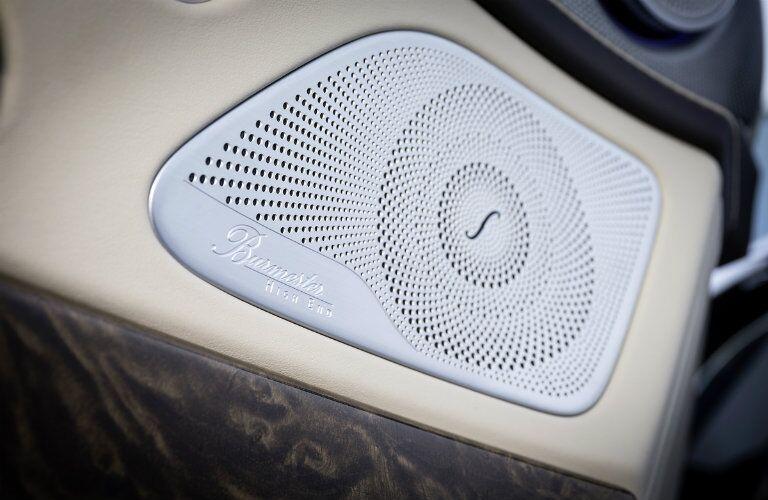 2017 Mercedes-AMG S65 Burmester sound System