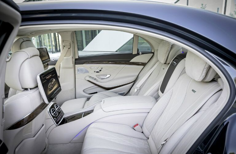 2017 Mercedes-AMG S65 Rear Seat Luxury