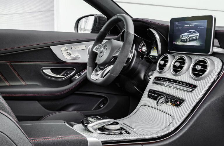2017 Mercedes-AMG C43 Coupe Front Seats
