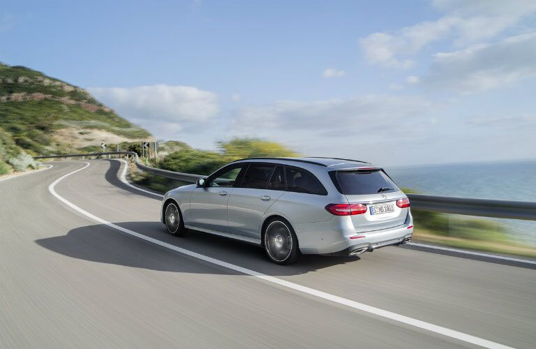 2017 Mercedes-Benz E-Class Wagon redesigned rear view