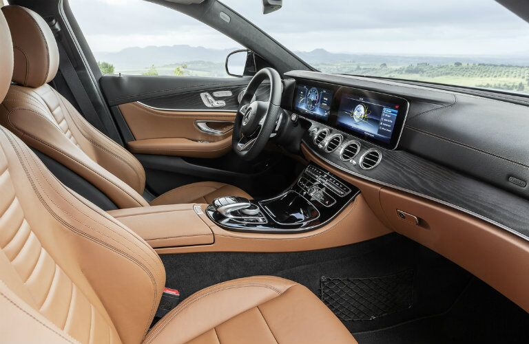 2017 Mercedes-Benz E-Class Wagon premium interior options