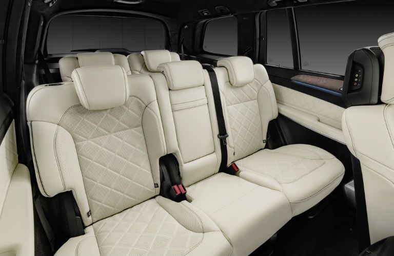 7-passenger Merceds SUV Leather Seats