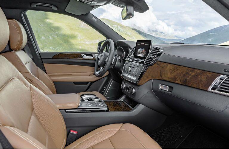 2017 Mercedes-Benz GLS Brown Leather Interior