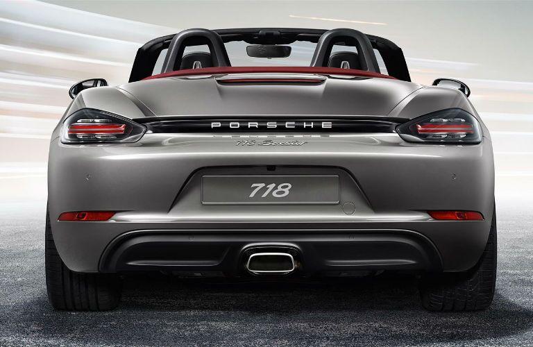 2017 Porsche 718 Boxster Rear Exhaust
