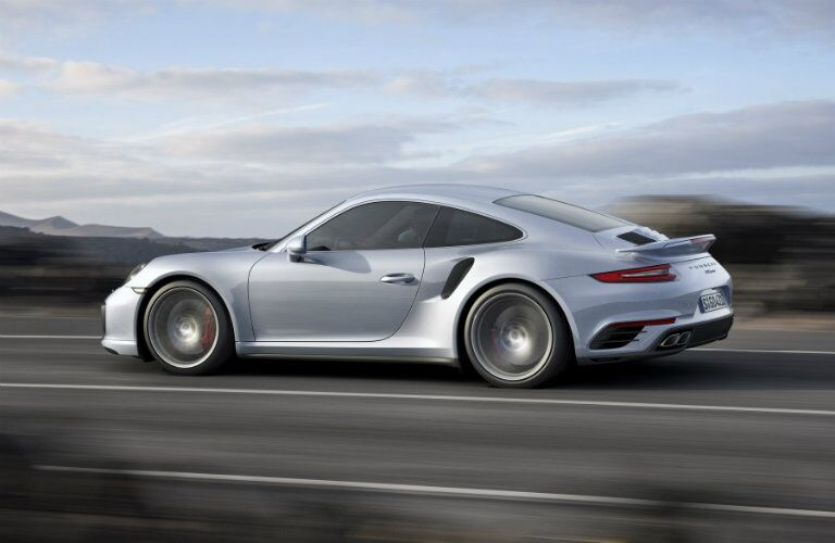 2017 Porsche 911 Turbo Side View