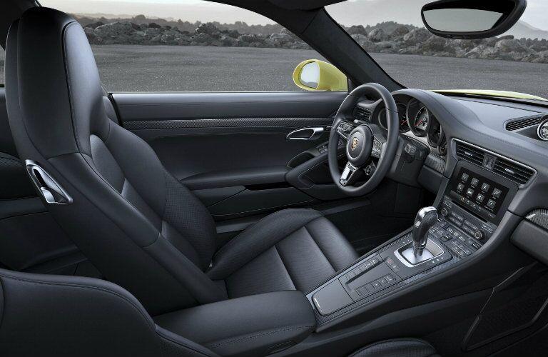 2017 Porsche 911 Turbo Interior Side View