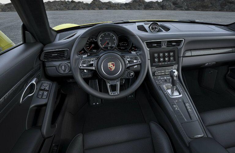 2017 Porsche 911 Turbo Interior Features