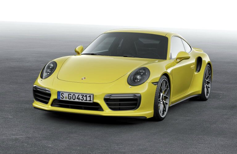 2017 Porsche 911 Turbo Redesigned Front End