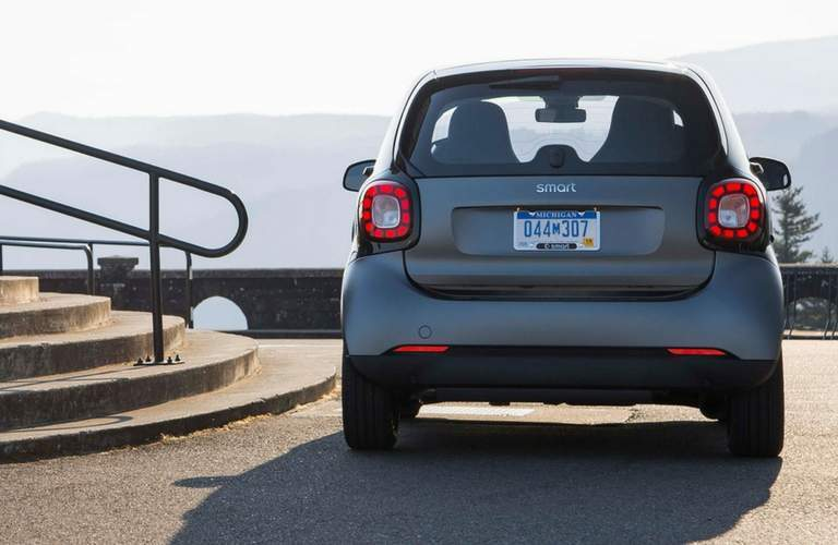 2017 smart fortwo prime exterior rear