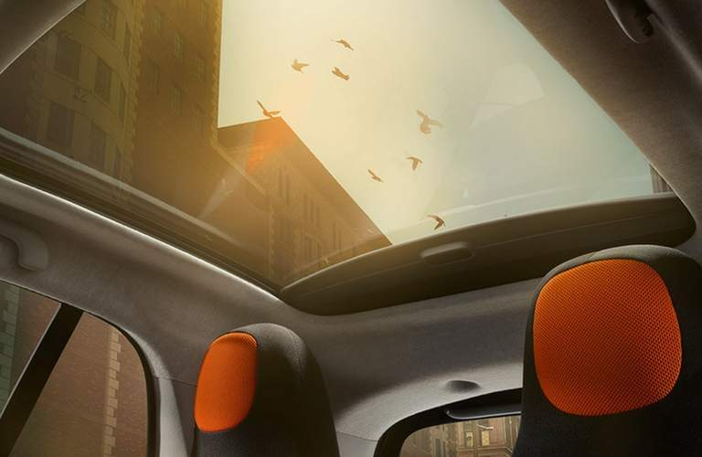 2017 smart fortwo prime panoramic moonroof