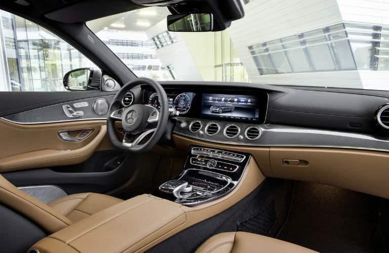 2017 Mercedes-Benz E-Class interior front