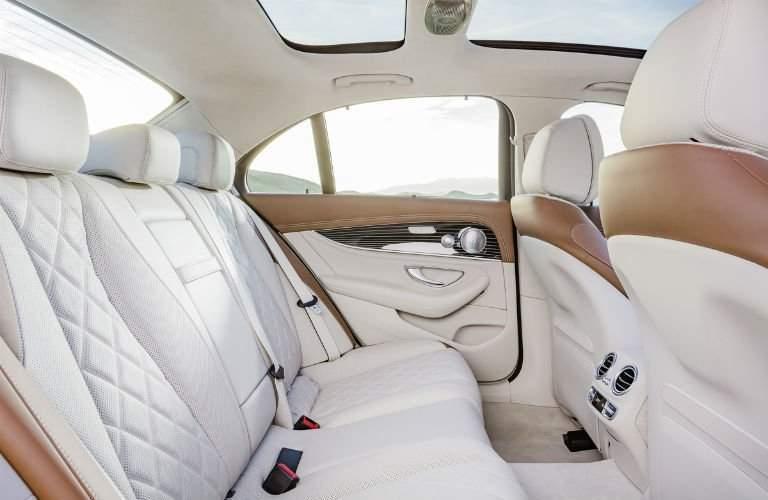 2017 Mercedes-Benz E-Class interior second row