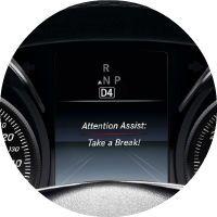 2017 Mercedes-Benz C-Class Attention Assist