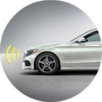 2017 Mercedes-Benz C-Class Collision Prevention Assist Plus