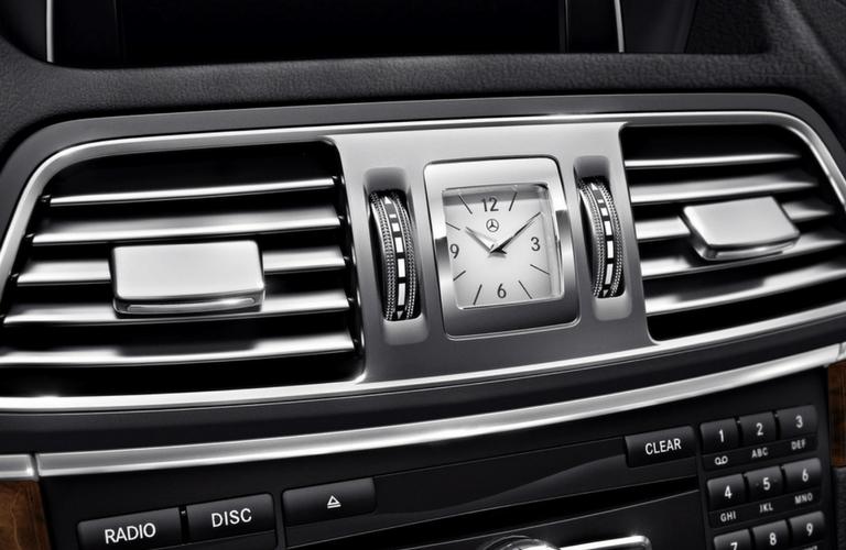 2017 Mercedes-Benz E-Class Cabriolet interior analog clock