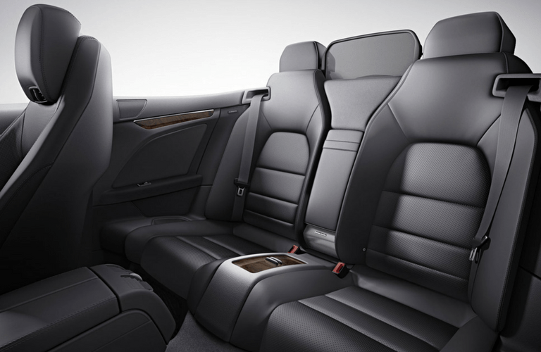 2017 Mercedes-Benz E-Class Cabriolet interior second row seat