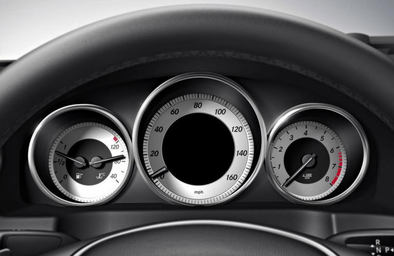 2017 Mercedes-Benz E-Class Cabriolet interior gauges