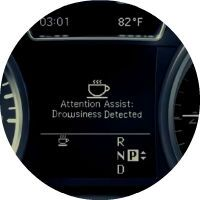 2017 Mercedes-Benz S-Class Attention Assist