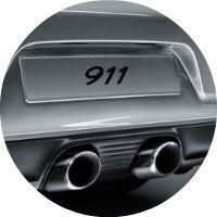 2017 Porsche 911 Carrera 4 Sports Exhaust System